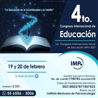 4to Congreso Internacional de Educacion-impo-2021